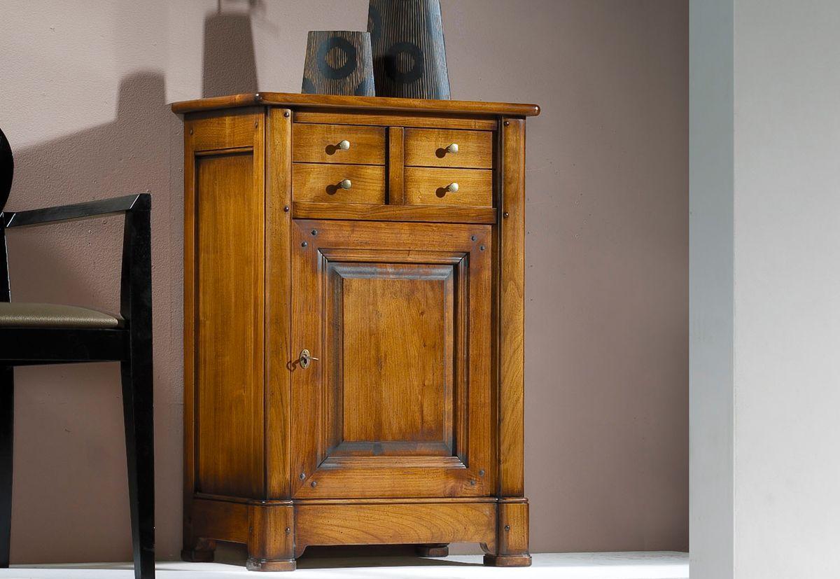 Table merisier moderne meuble tv en merisier massif neuf meuble en merisier massif frais table - Meuble confiturier ancien ...