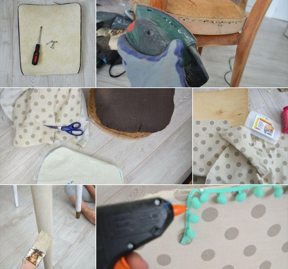 diy comment r nover de vieilles chaises en bois les belles histoires. Black Bedroom Furniture Sets. Home Design Ideas