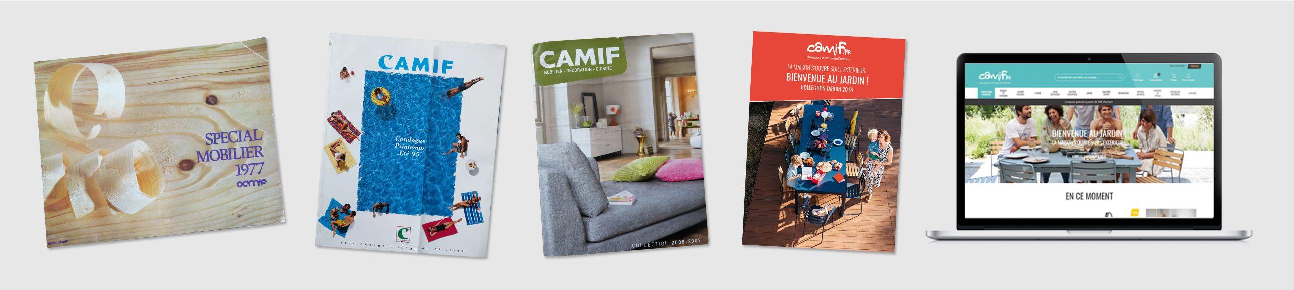 les catalogues de la camif plus de 70 ans d histoire les belles histoires. Black Bedroom Furniture Sets. Home Design Ideas