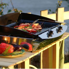 Planchas et barbecues